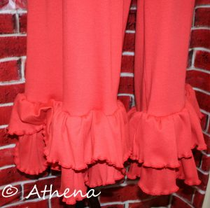 Double Ruffle (Red)